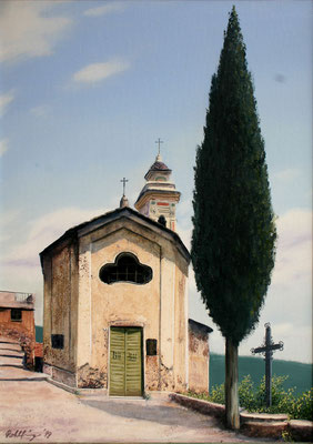 1999 Degolla Öl auf Leinwand 50x30 cm