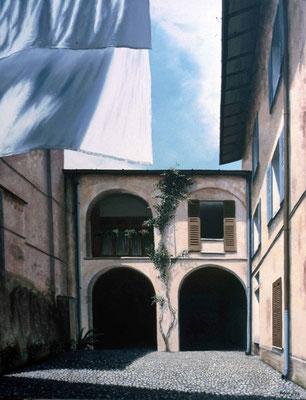 1999 Große Wäsche Mischtechnik auf Leinwand 800x80 cm