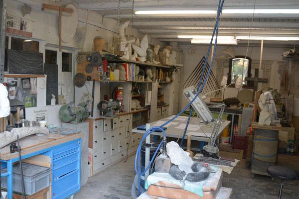 Das Atelier von Heidi und Richard Wyss