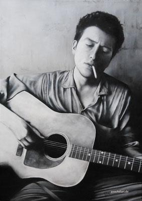 Bob Dylan - 2013, 100 x 65, Acryl auf Leinwand