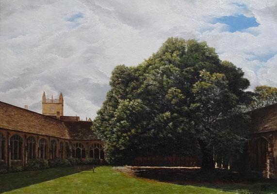 Oxford - 2016, 50 x 70 cm, Öl auf Leinwand
