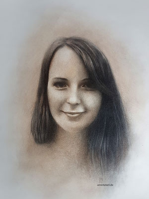 Jenni 1 - 2016, 21 x 29 cm, Buntstift auf Papier