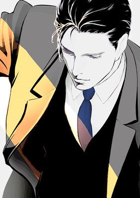 2013.2 画材:鉛筆,デジタル -Animus- アニムスって何人もいるそうです。