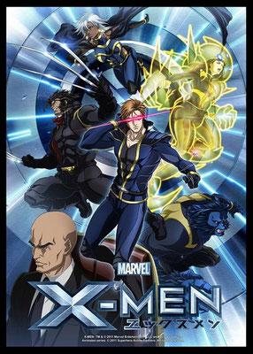 TVアニメ『X-MEN』キービジュアル/原画