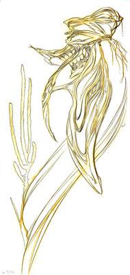 2010.7.13 画材:鉛筆 なんで描いたのか覚えていませんが、時期的に海に行きたかったのかなぁ。。