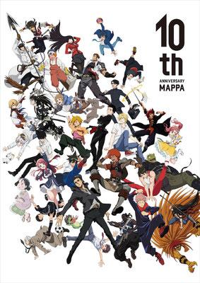 MAPPA10周年の描き下ろしキービジュアル 「牙狼-紅蓮ノ月-」雷吼 原画