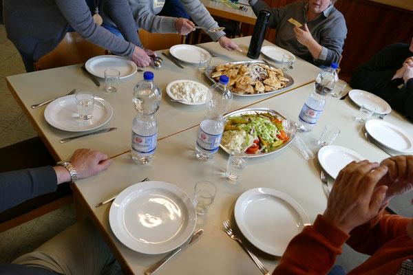 Mittagspause :-)
