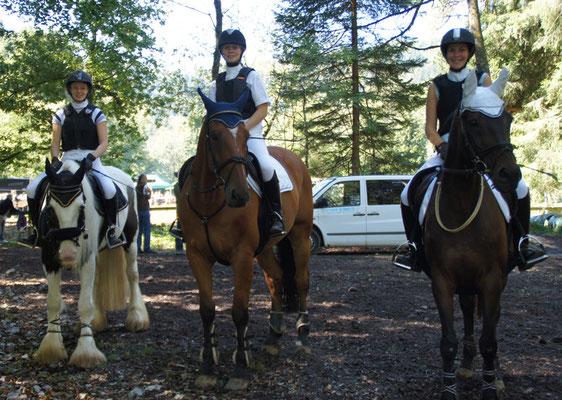 Ramona, Luana und Annette