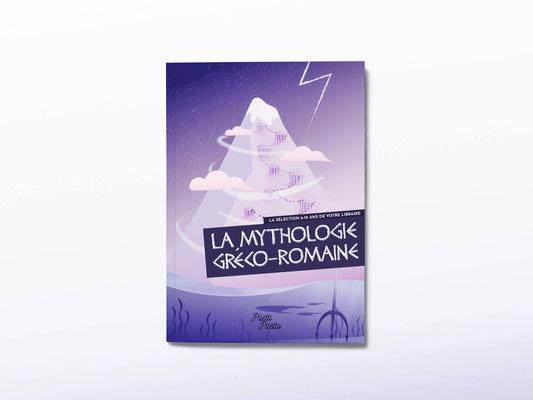 La Un livret présentant la sélection jeunesse d'une librairie - Thème mythologie grecque