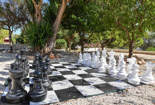 Gioco di scacchi gigante