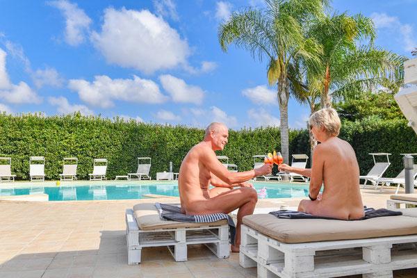 naturist pool italy