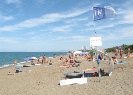 spiaggia naturista