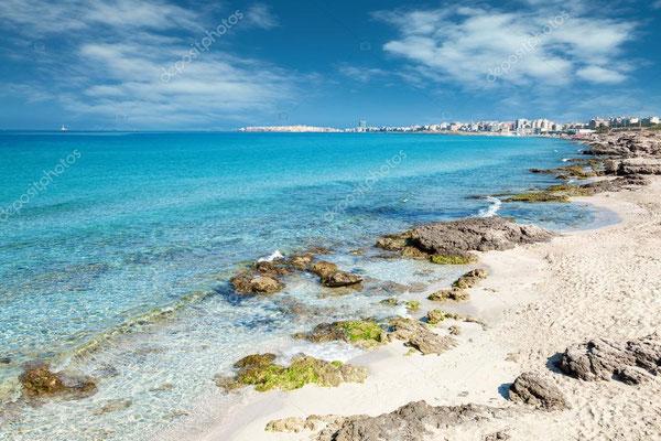 Strände Apulien