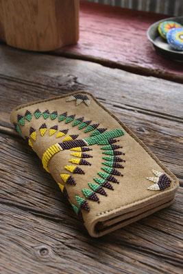 deerskin long wallet 鹿革の長財布