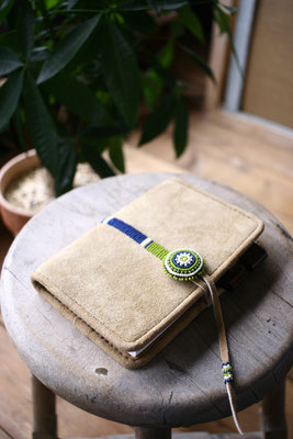 deerskin notebook cover 鹿革手帳カバー