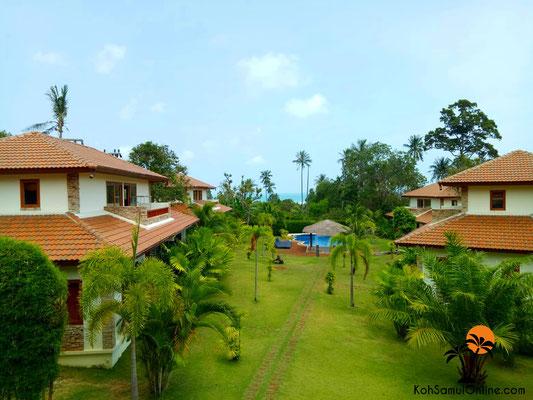 villa koh samui blue hill residence lamai