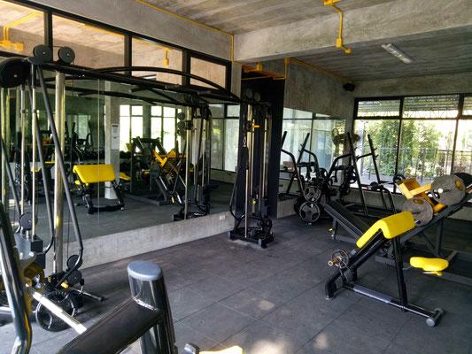 fitnessstudio koh samui