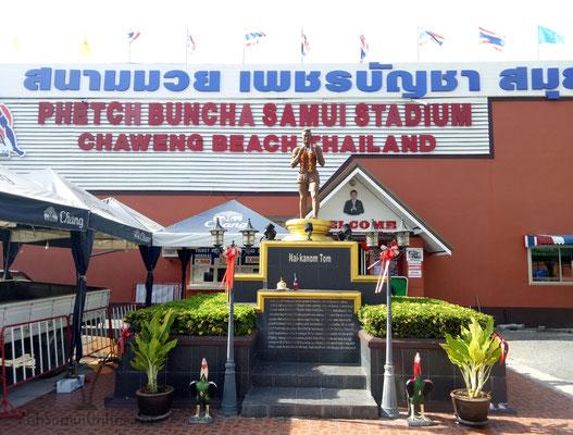 Muay Thai Stadium on Koh Samui Phetch Buncha Stadium
