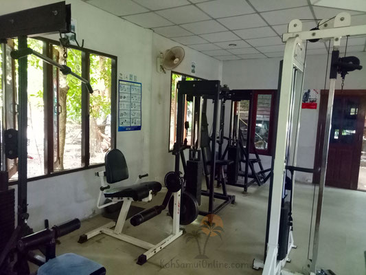 Koh Samui Fitnessstudio