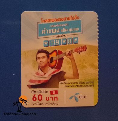 telefonieren in thailand