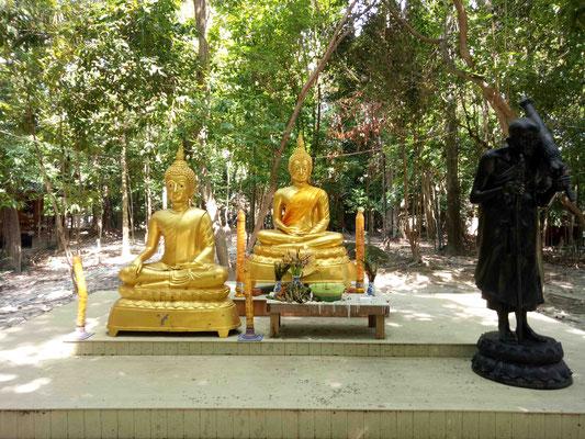Tempel auf Koh Kipe