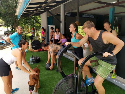 fitnessstudio koh samui lamai beach crossfit