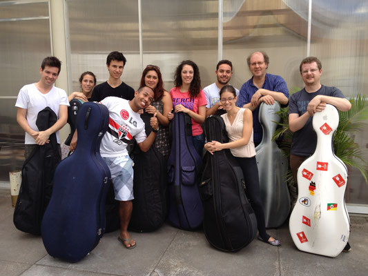 Brasil 2014 cello course