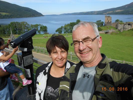 Daut Castle am Loch Ness