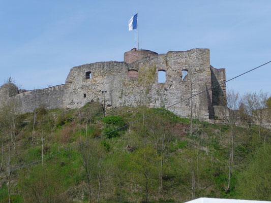 Die Burg in Polle