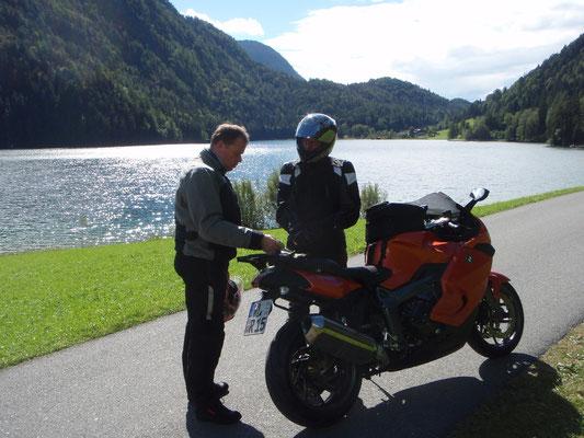 Der Hintersteiner See bei Scheffau