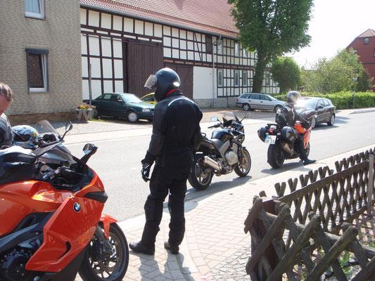 Auf der Anfahrt nach Bad Sachsa