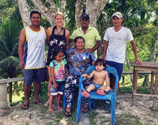 Oskars Familie im Amazonas
