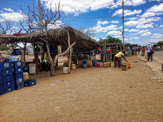 Tankstellen in Kolumbien