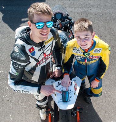 RaceAnalyse with H-Moto team