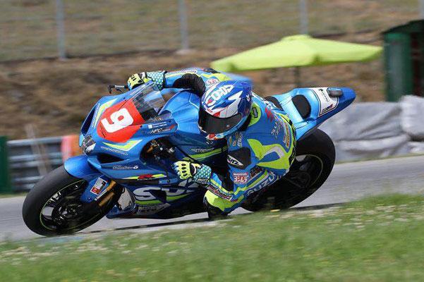 Swiss champion Domi#9 with RaceAnalyse
