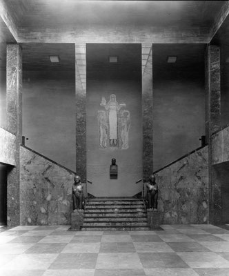 Ehrenhalle, Ursprungsfassung, Foto: Kerckhoff-Stiftung