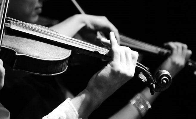 Geigenspiel, Foto: Ivonne Edelbauer-Ebersbach