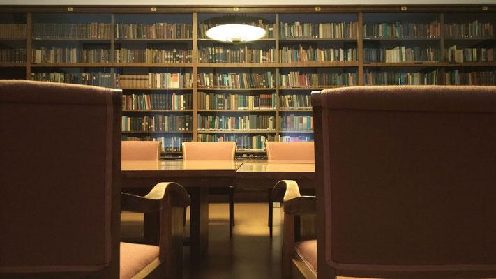 Die historische Bibliothek des Max-Planck-Institutes in Bad Nauheim