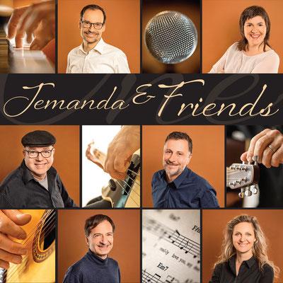 JEMANDA & FRIENDS - CD-Cover von Jemanda Tunes