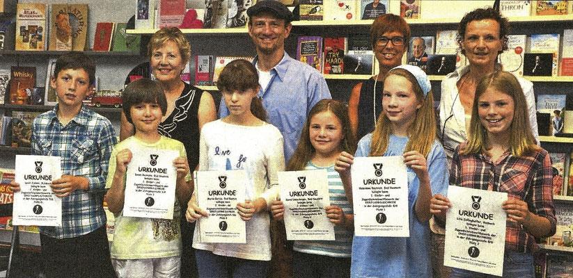 Preisverleihung Schreibwettbewerb am 24.06.2017