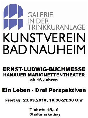 Partner der Ernst-Ludwig-Buchmesse 2018: KUNSTVEREIN BAD NAUHEIM - Der Kunstverein ist ein Mitglied der Gemeinschaft der Trinkkuranlage