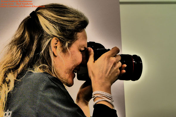 Foto Ivonne Edelbauer-Ebersbach, Ernst-Ludwig-Buchmesse 2019