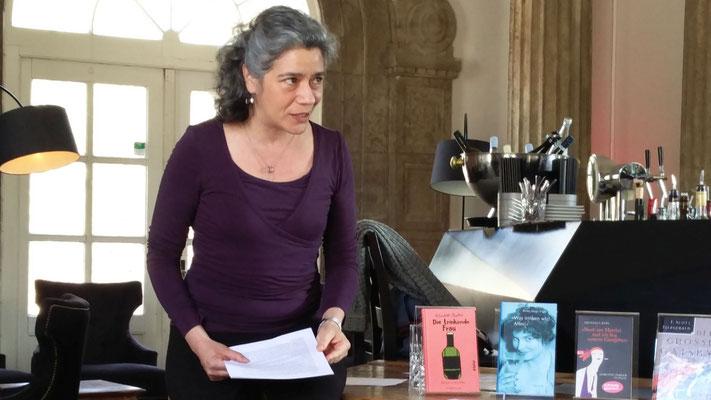 Dr. Jasmin Behrouzi-Rühl, Foto von Beatrix van Ooyen - Ernst-Ludwig-Buchmesse 2018