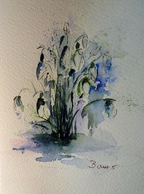 Aquarell: Doris Bauer