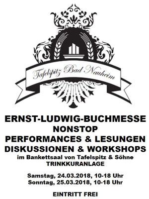 Partner der Ernst-Ludwig-Buchmesse 2018: TAFELSPITZ & SÖHNE - Das Restaurant ist ein Mitglied der Gemeinschaft der Trinkkuranlage