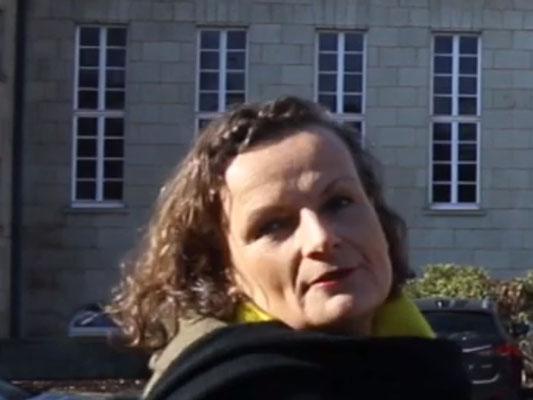 Vor dem  Max-Planck- und W.G. Kerckhoff-Institut, Ort der Ernst-Ludwig-Buchmesse 2019