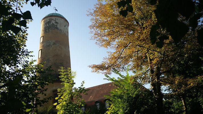 Der Waitz'sche Turm neben dem Sprudelhof - Foto: Beatrix van Ooyen