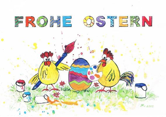 Grußpostkarte von Iris Müller