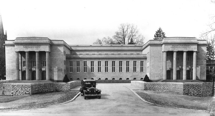Das William G. Kerckhoff-Institut kurz nach seiner Fertigstellung, Foto: Kerckhoff-Stiftung