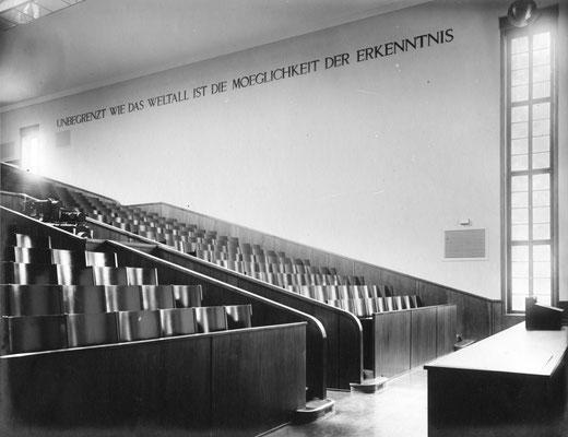 Großer Hörsaal, Ursprungsfassung, Foto: Kerckhoff-Stiftung